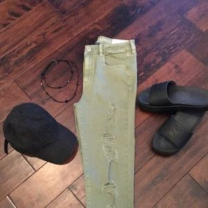 High rise jeggings by American Eagle Outfitters